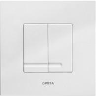 Кнопка слива инсталляций Wisa XS Delos DF белая 8050.415601
