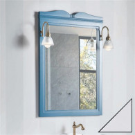 Зеркало Caprigo Borgo 60-70 bianco-grigio 33430-B-177