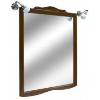 Зеркало Kerasan Retro 734540 92 см, орех