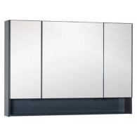 Зеркало-шкаф Aquanet Виго 120 серый 183363