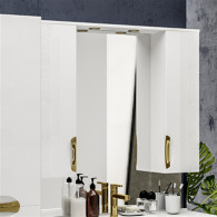 Зеркало-шкаф ValenHouse Ривьера 100 золото R100_ЗБЗ