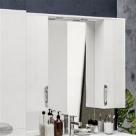 Зеркало-шкаф ValenHouse Ривьера 100 хром R100_ЗБХ