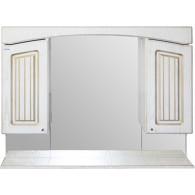 Зеркало-шкаф Mixline Крит 105 золото 533129