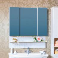 Зеркало-шкаф Бриклаер Карибы 100 светлая лиственница