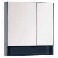 Зеркало-шкаф Aquanet Виго 80 серый 183362
