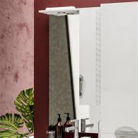 Зеркало-шкаф ValenHouse Ривьера 60 патина/хром R60_ЗПС
