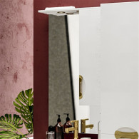 Зеркало-шкаф ValenHouse Ривьера 60 золото R60_ЗБЗ