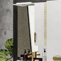 Зеркало-шкаф ValenHouse Ривьера 70 патина/золото R70_ЗПЗ