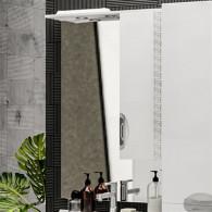 Зеркало-шкаф ValenHouse Ривьера 70 патина/хром R70_ЗПС