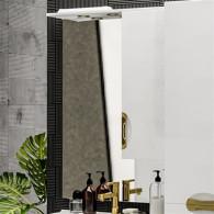 Зеркало-шкаф ValenHouse Ривьера 70 золото R70_ЗБЗ