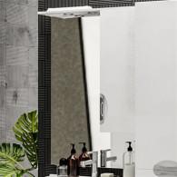 Зеркало-шкаф ValenHouse Ривьера 70 хром R70_ЗБХ