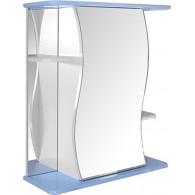 Зеркало-шкаф Mixline Венеция 60 голубое 525886