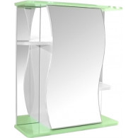 Зеркало-шкаф Mixline Венеция 60 зеленое 525921