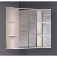 Зеркало-шкаф Onika Арно 60.00 R белое дерево 206037
