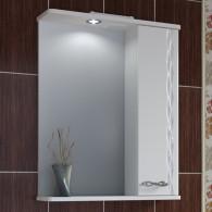 Зеркало-шкаф Runo Лотос 50 R 2099