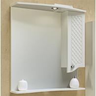 Зеркало-шкаф Runo Милано 75 R 2098