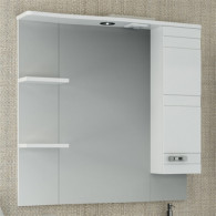 Зеркало-шкаф Runo Турин 85 R 2105