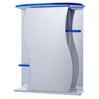 Зеркало-шкаф Vigo Alessandro 3-55 синий №11-550-син