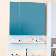 Зеркало-шкаф Бриклаер Карибы 75 светлая лиственница