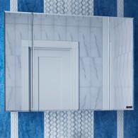 Зеркало-шкаф СанТа Стандарт 100 фацет 113012