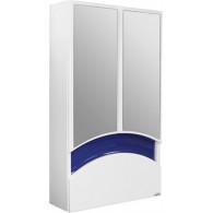 Зеркало-шкаф Mixline Радуга 46 синее 522951