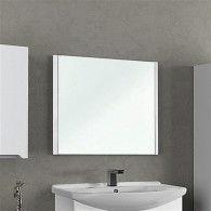 Зеркало Dreja.Eco Uni 105 белое 99.9007