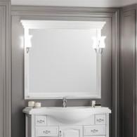 Зеркало Opadiris Риспекто 100 белое матовое Z0000012655