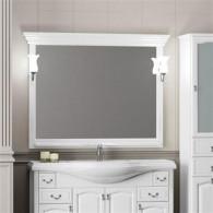 Зеркало Opadiris Риспекто 120 белое матовое Z0000012656