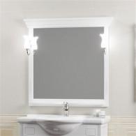 Зеркало Opadiris Риспекто 95 белое матовое Z0000012538