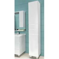 Пенал-шкаф 1MarKa Пенал Кода 35Н белый глянец