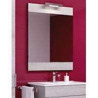 Зеркало Aqwella Бриг 60 седой дуб Br.02.06/Gray