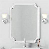 Зеркало Aqwella 5 stars LaDonna белое LAD0207W