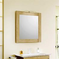Зеркало Aqwella 5 stars Simphony Л7 дуб сонома Sim.02.07/DS