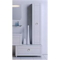 Пенал-шкаф Aqwella 5 stars Инфинити П35 подвесной белый Inf.05.35