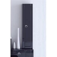 Пенал-шкаф Aqwella 5 stars Инфинити П35 подвесной черный Inf.05.35/BLK