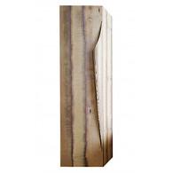 Пенал-шкаф Clarberg Папирус Вуд светлое дерево Pap-w.05.35/LIGHT