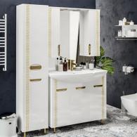 Мебель для ванной ValenHouse Ривьера 100 патина золото, золото