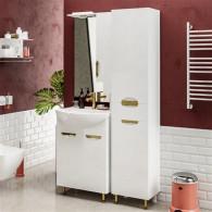 Мебель для ванной ValenHouse Ривьера 60 золото