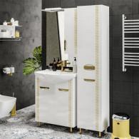 Мебель для ванной ValenHouse Ривьера 70 патина золото, золото