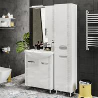 Мебель для ванной ValenHouse Ривьера 70 патина серебро, хром
