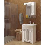 Мебель для ванной Mixline Крит 55 патина серебро