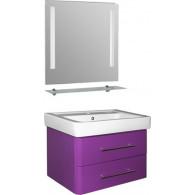 Мебель для ванной Mixline Ницца 80 фиолет