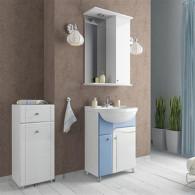 Мебель для ванной Mixline Посейдон 55 голубая