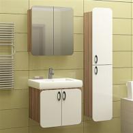 Мебель для ванной Mixline Того 60 эбони светлый