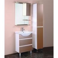 Мебель для ванной Onika Элита 60 штрокс коричневый