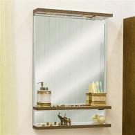 Зеркало Sanflor Румба 60 венге, патина золото