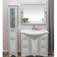 Мебель для ванной Sanflor Адель 100 белая, серебро