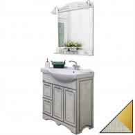Мебель для ванной Sanflor Адель 82 белая, золото, L