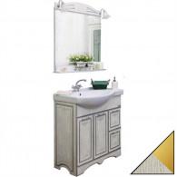 Мебель для ванной Sanflor Адель 82 белая, золото, R