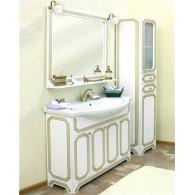 Мебель для ванной Sanflor Каир 100 белая, золотая